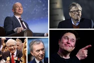 Los más ricos del mundo elevaron aún más sus fortunas en el año de la pandemia