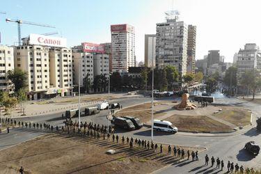 Carabineros mantendrá estrategia de mil policías en Plaza Italia para todos los viernes