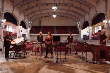 Ensamble de Percusiones Usach debuta con homenaje a Joane Florvil
