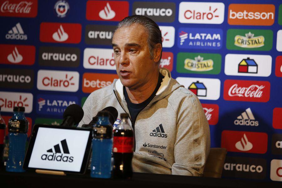 Martín Lasarte, en la conferencia previa al duelo ante Paraguay
