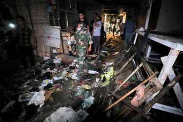 Estado Islámico reivindicó atentado que causó al menos 35 muertos en mercado de Bagdad