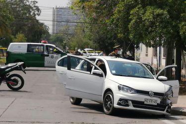 Carabineros detiene tras persecución a dos sujetos que estarían vinculados a homicidio de hermanas en el centro de Santiago