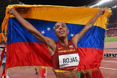 Oro, récord mundial y olímpico: el histórico triple salto de Yulimar Rojas en Tokio