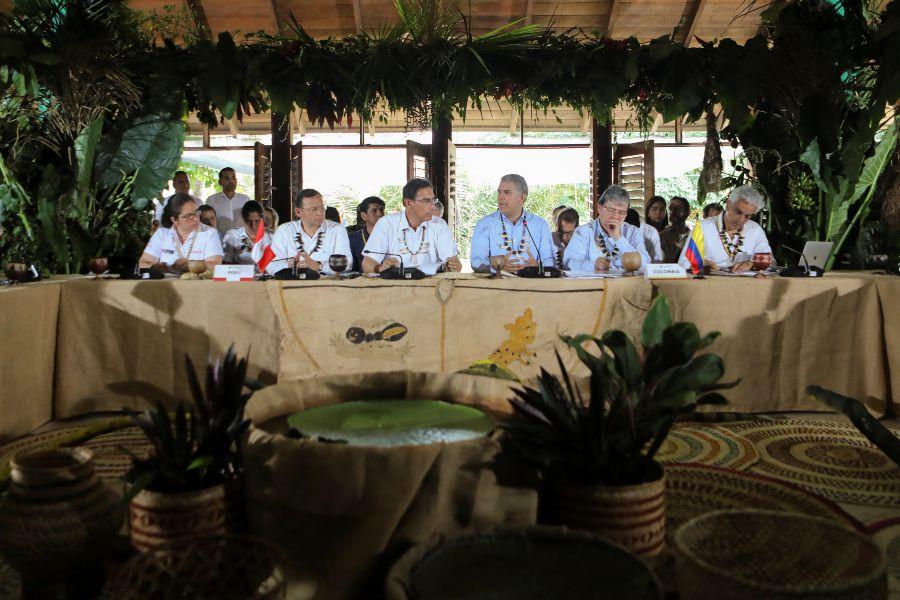 Cumbre presidencial de la Amazonía