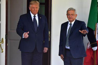 Trump y AMLO sostienen su primer encuentro en la Casa Blanca en medio de la pandemia del coronavirus