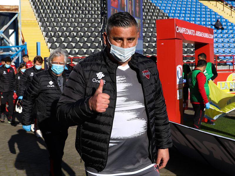Jaime García, en el estadio CAP