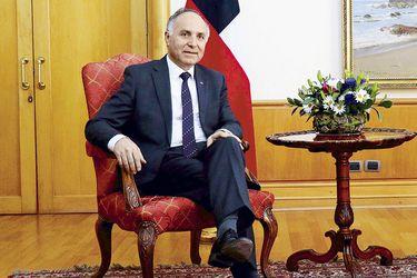 """Teodoro Ribera, ministro de Relaciones Exteriores:  """"La oposición debería hacer un esfuerzo por reconocer el rol relevante que Chile y el Presidente están jugando en medioambiente"""""""