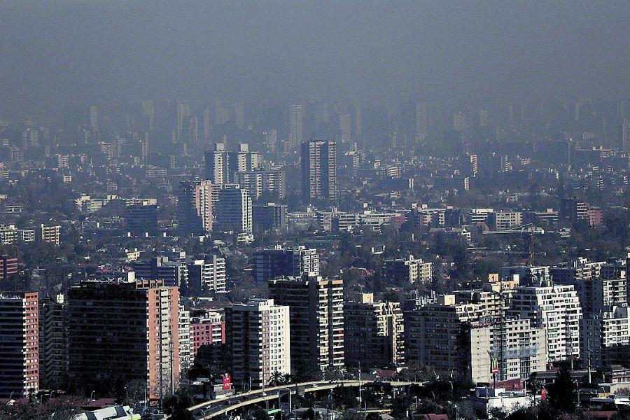 Imagen Vistas Santiago Contaminacion 40