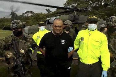 Capturan a Otoniel, principal líder del narcotráfico en Colombia