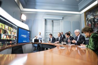 Gobierno y gran empresariado instalan mesa de coordinación para enfrentar la emergencia del Covid-19