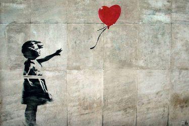 Niña con globo, la inocente obra autodestruida de Banksy que se volvió millonaria