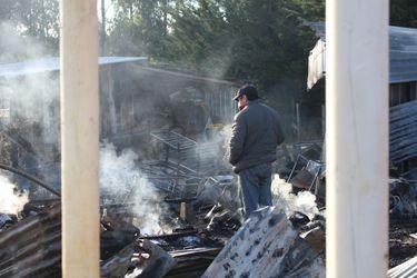 Fiscalía investiga incendios en tres escuelas de la Provincia de Arauco durante la última semana