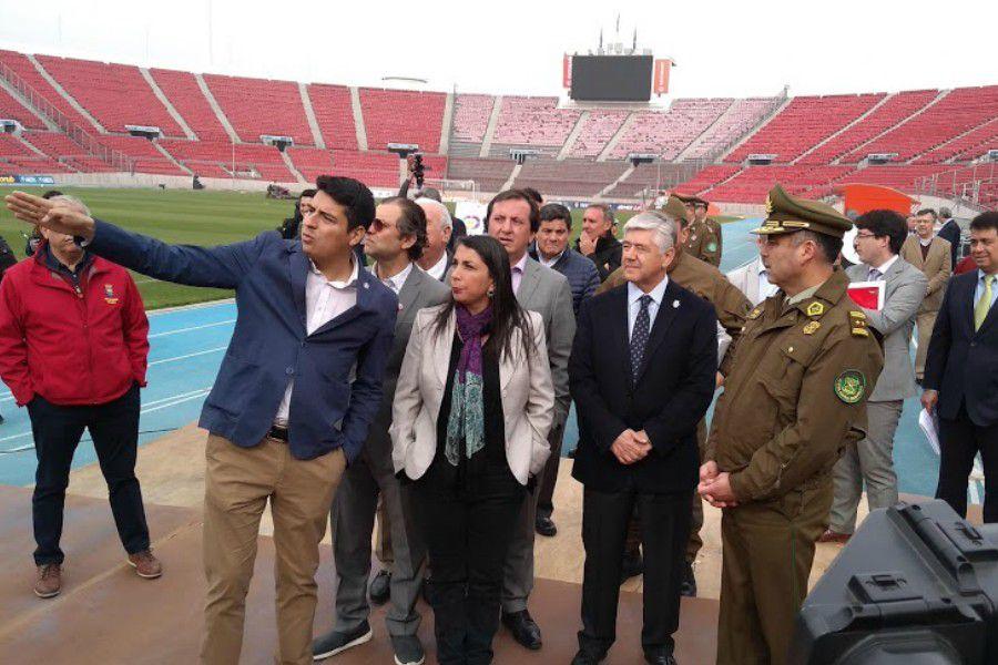 Inspección Estadio Nacional