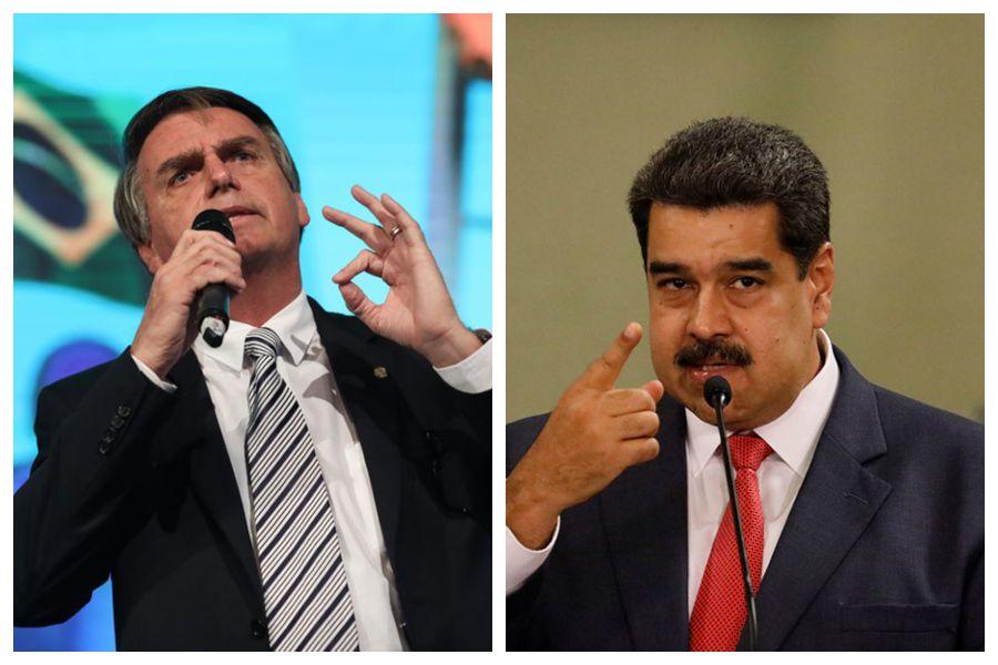 Bolsonaro - Maduro