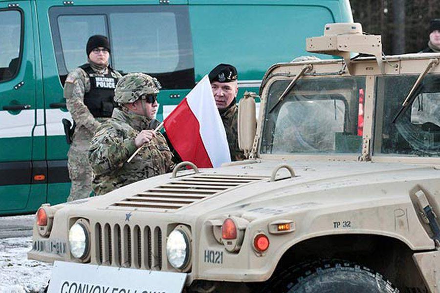 despliegue militar EE.UU. en Polonia