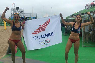 Rivas y Mardones clasifican a cuartos de final del vóleibol playa