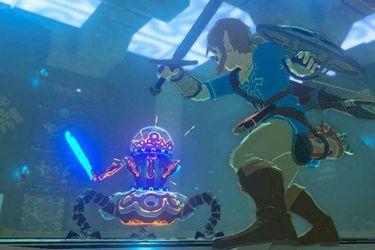 Crean réplica de espada del guardián de Legend of Zelda: Breath of the Wild