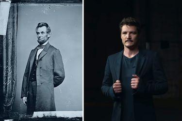 Pedro Pascal, padre de EEUU: la serie de Netflix en que el actor es Abraham Lincoln
