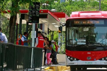 BYD en Chile: los buses eléctricos chinos que impactan a los santiaguinos
