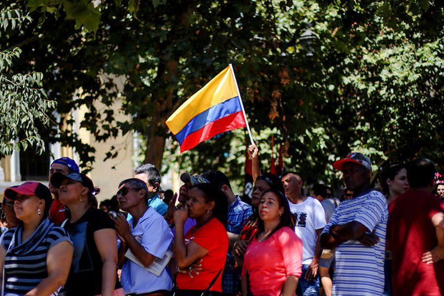 venezolanos chile