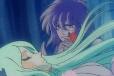 Manly tears: Hyoga despide a su madre y decide morir con su recuerdo