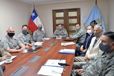 """Fach y Ussf comparten primera mesa de trabajo """"espacial"""" entre Chile y EE.UU."""