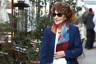 Ángela Jeria, madre de la expresidenta Bachelet, fue hospitalizada ayer en el Hospital de la Fach
