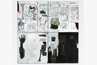 flesh and spirit basquiat de Sotheby's