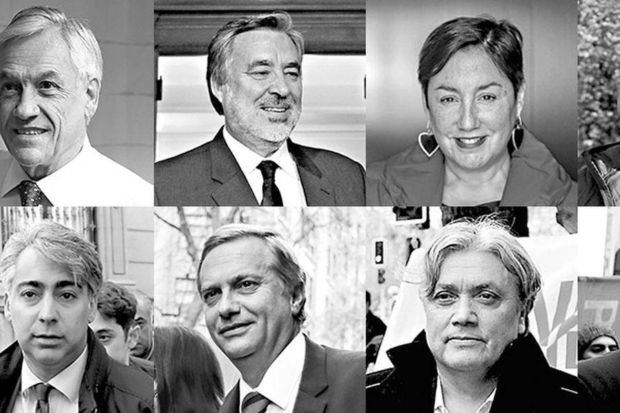 Candidatos renuevan campaña tras inicio de propaganda electoral - La Tercera
