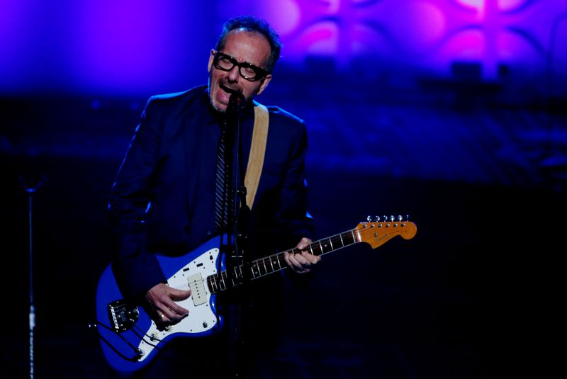 FILE PHOTO: Singer Elvis Costello