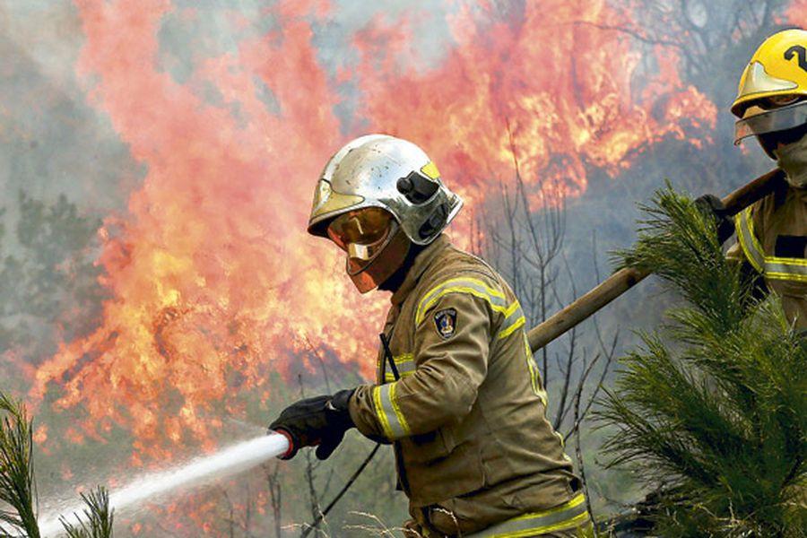 bomberos incendios
