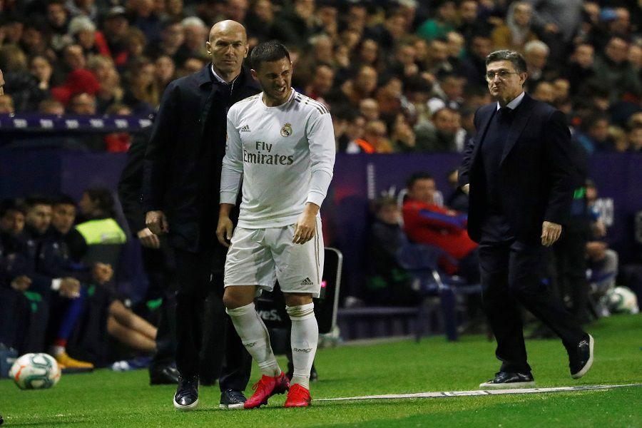 Hazard vuelve a lesionarse y se perderá los partidos ante el City y Barcelona