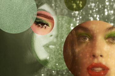 Atrévete con la tendencia del maquillaje verde
