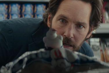 Paul Rudd conoce a las versiones miniatura de Mr. Stay Puft en un nuevo clip de Ghostbusters: Afterlife