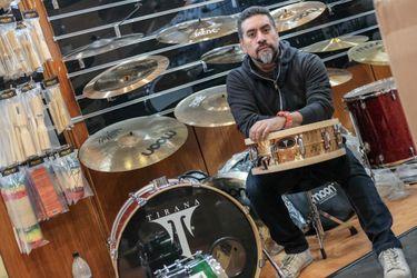 Mauricio Hidalgo baterista