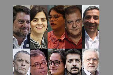 Diez nombres y un solo cargo: La batalla opositora por la gobernación metropolitana