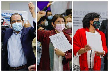 Unidad Constituyente inscribe Consulta Ciudadana y sortea orden de aparición en la papeleta: Provoste, Narváez y Maldonado