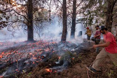 El sur de Argentina sigue en alerta por incendios forestales que han obligado a evacuar a más de 200 personas