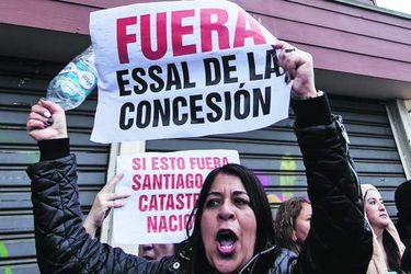 OSORNO: Protesta contra Essal