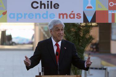 """Piñera defiende proyecto """"Admisión Justa"""": """"Es sentido común e interpreta lo que los padres quieren"""""""