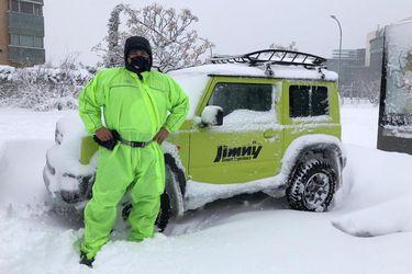 Ford, Jeep, Land Rover y Suzuki ayudan con sus 4x4 en la emergencia invernal española