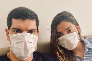 La pandemia alcanza a Carlos Lampe