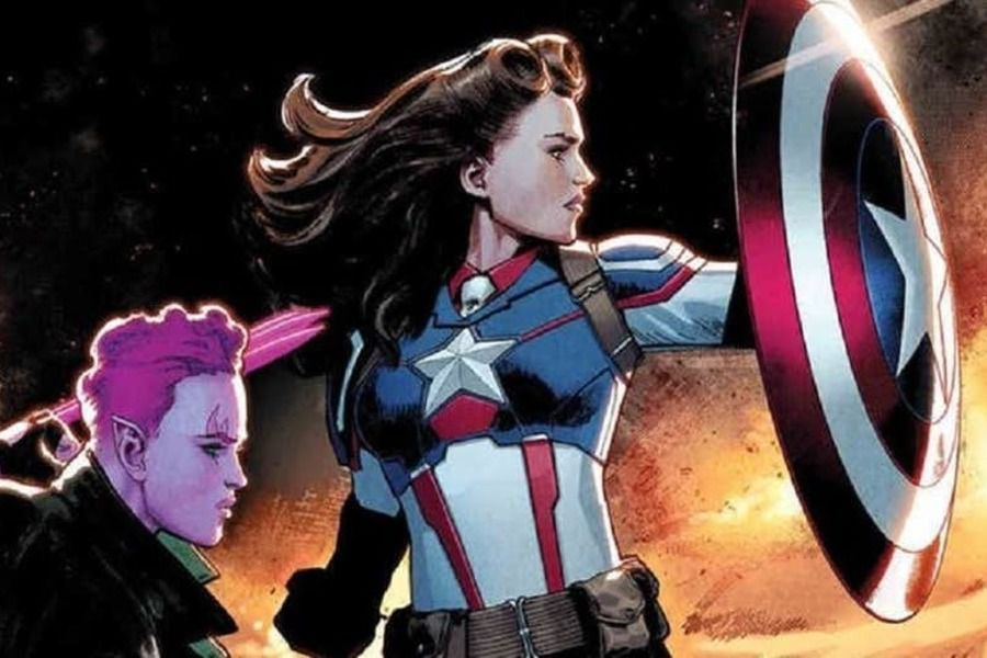 Captain america Carter