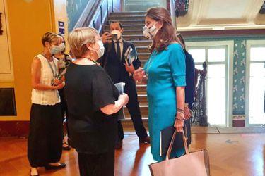 Canciller de Colombia se reúne con Michelle Bachelet en Ginebra mientras continúan protestas sociales en ese país