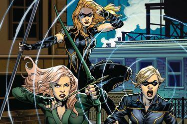 Green Arrow and the Canaries será el nuevo cómic ambientado en el Arrowverso