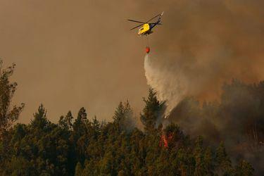 Conaf: en lo que va de temporada, se ha registrado un 5% más de incendios que el año pasado