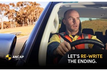 La campaña de TV que insta a comprar solo autos con frenado de emergencia autónomo