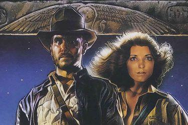 Drew Struzan tuvo que pagar un rescate para recuperar su póster original de Indiana Jones
