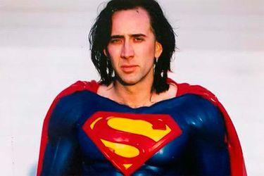 Un nuevo vistazo al traje de Nicolas Cage para Superman Lives