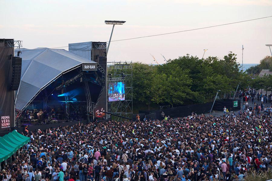 CUARTA JORNADA DEL FESTIVAL DE MÚSICA PRIMAVERA SOUND